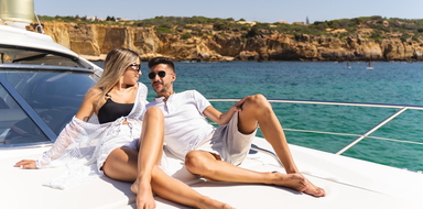 Full-day yacht charter in Albufeira