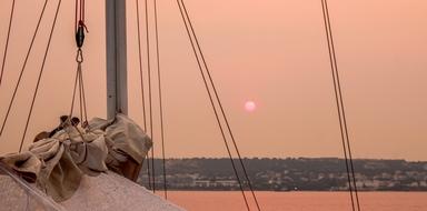 Sunset tour in Rhodes