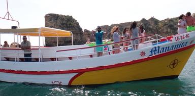 Ponta da Piedade tour with swimming