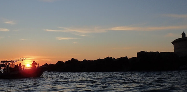 Lisbon sunset boat trip