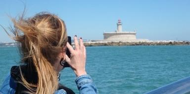 Lisbon forts boat tour