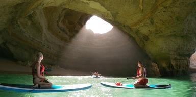 Sunrise Paddle at Benagil cave