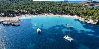 Ibiza coast boat tour
