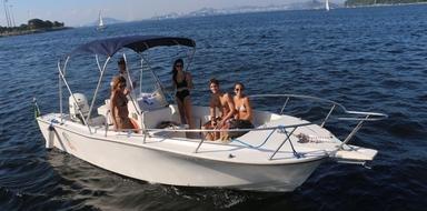 Boat cruise in Rio de Janeiro