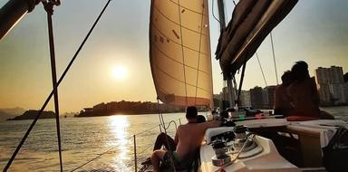 Sunset cruise in Rio de Janeiro