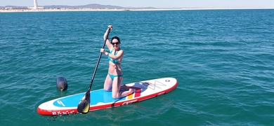 We have SUP gear available for an extra fee