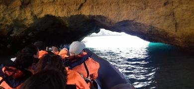 Discover hidden caves