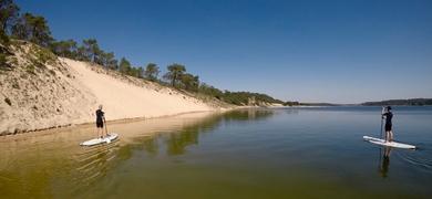 Discover the stunning Lagoa de Albufeira