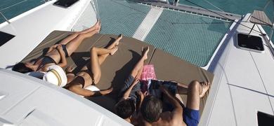 Enjoy the sun on our sundeck