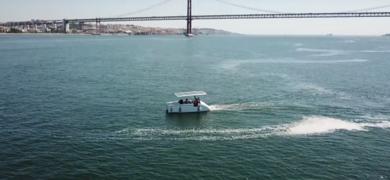 Explore Lisbon's main landmarks from the Tagus River