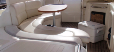 Feel comfortable on our luxury yacht