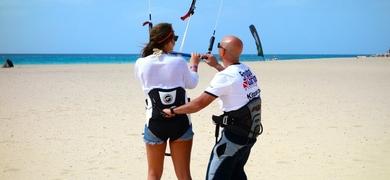 Kitesurf lessons Boa Vista Cabo Verde