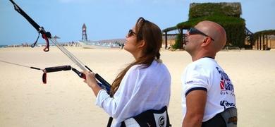 Kitesurf lessons Cabo Verde