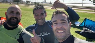 kitesurfing Almería