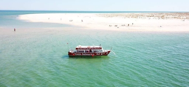 Welcome aboard of our comfortable boat