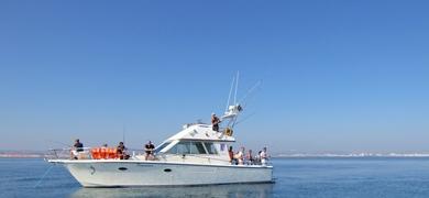Our boat in Vilamoura