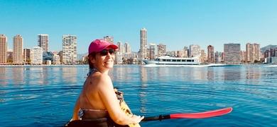 Kayaking in Benidorm