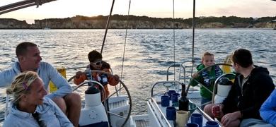 Sailing in Portimão