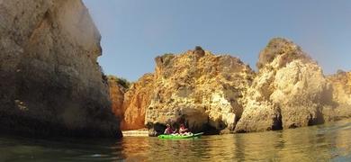 Kayaking Benagil