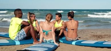 Surfing Alicante