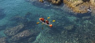 Kayak tour in Almería