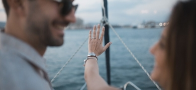 Sailing in Barcelona with photoshoot