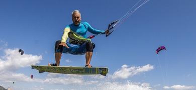 Kitesurf is a lot of fun