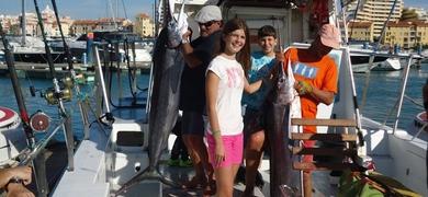 Marlin fishing in Vilamoura
