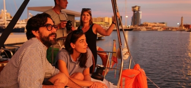 Private sunset sailing tour in Barcelona