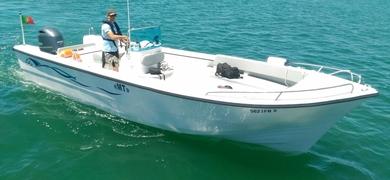 Fishing trip in Faro boat
