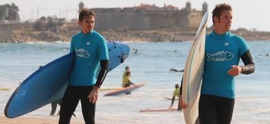 Surfing in Matosinhos is a lot of fun