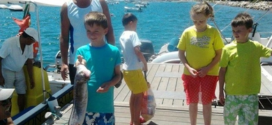 Family Fishing from Tavira