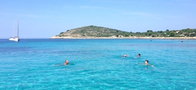 Boat from Trogir