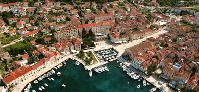 Boat trip from Trogir to Brač
