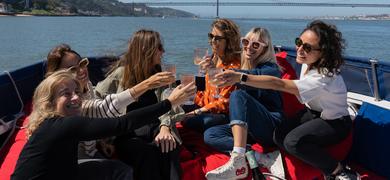 Private boat trip in Lisbon