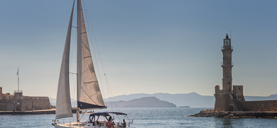 Explore amazing places while sailing around Crete