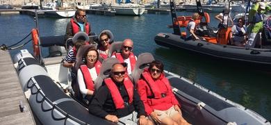 Lisbon by speedboat