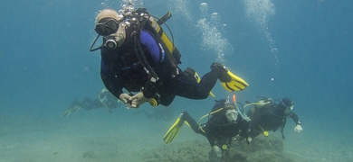Scuba diving in Tenerife with your friends