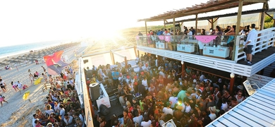 Join us for epic sunset parties