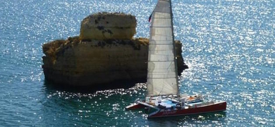 Cover for Sailing in Vilamoura