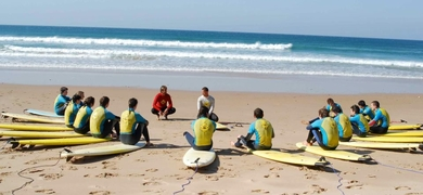 Cover for Surfing Algarve