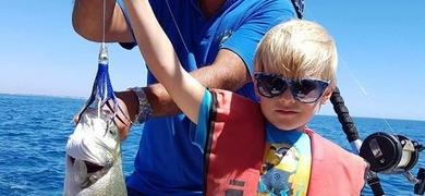 Cover for Family fishing from Alvor