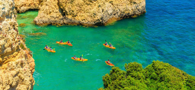 Cover for Kayak in Vilamoura - guided tour