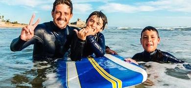 Cover for Lisbon surf Lesson