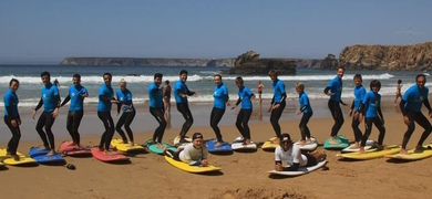 Cover for Learn surfing in Sagres