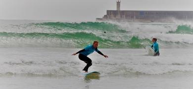 Cover for Private surf lesson in Porto