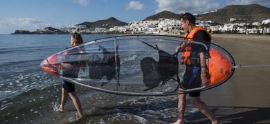 Cover for Kayak tour in Almería
