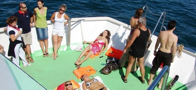 Cover for Boat tour with SUP in Vilamoura
