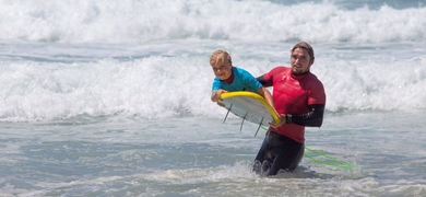 Cover for Kids surf lesson in Lagos