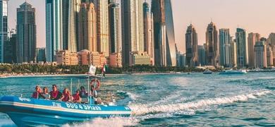 Cover for Private boat tour in Dubai - RIB